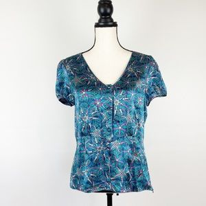 Marc Jacobs Sz 10 Silk Blouse